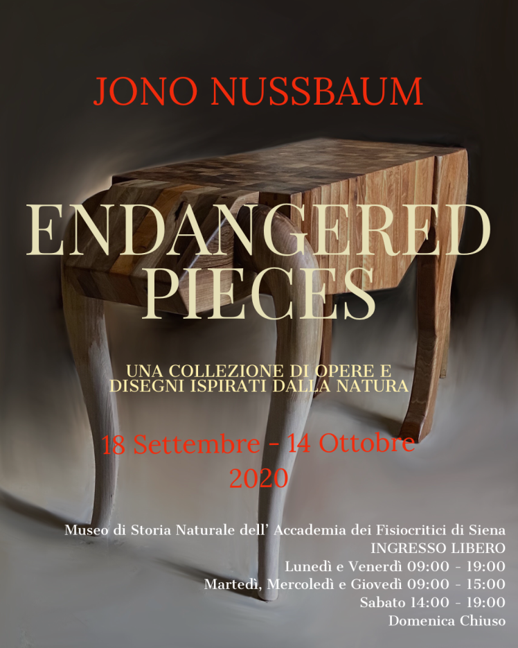 2020 mostra endangered pieces loc tavolo